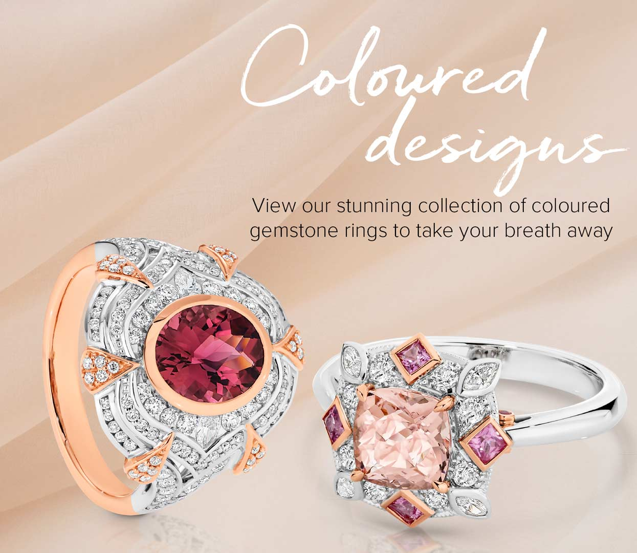 Gemstone Rings At Keoghan's Showcase Jewellers