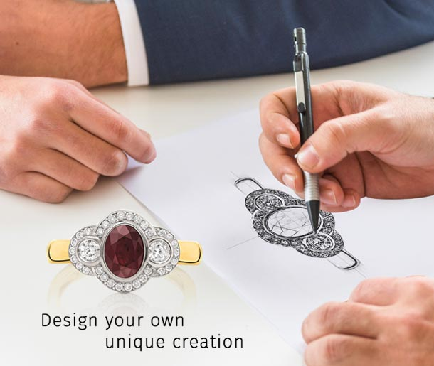 Custom Designed Jewellery At Keoghans Showcase Jewellers